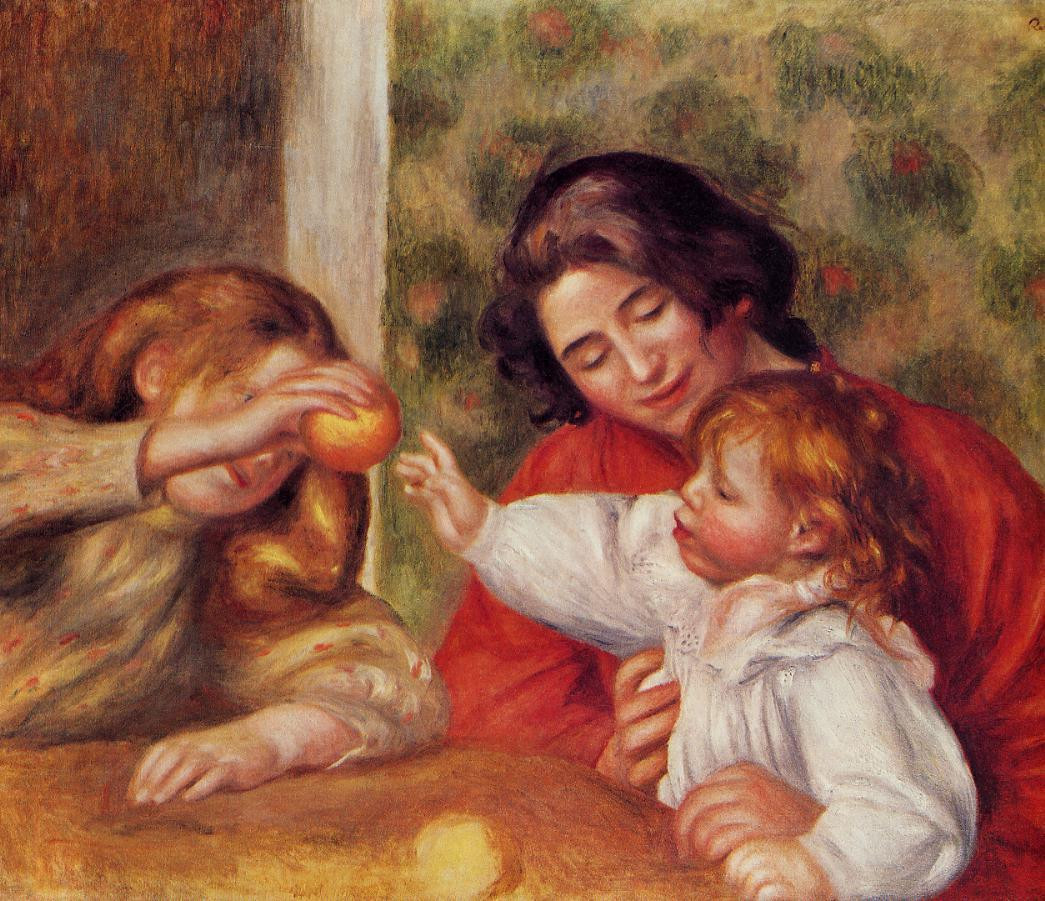 Gabrielle with renoirs children xx private collection